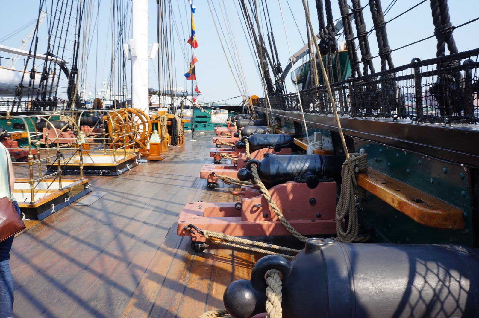Naval legacy | Not as it Looks Uss Constitution Pictures Of Deck