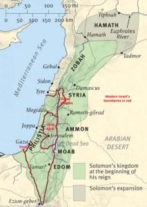 Fig. 2:  Solomon's kingdom